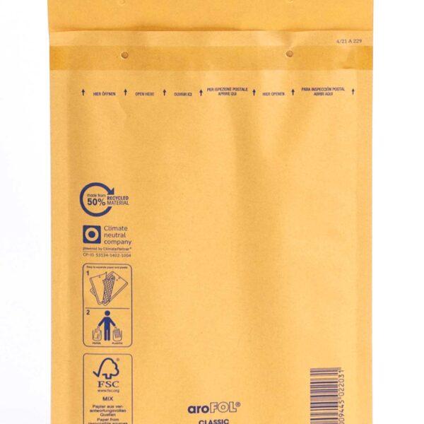 Kuverte sa zrač. jastucima 180x265 mm