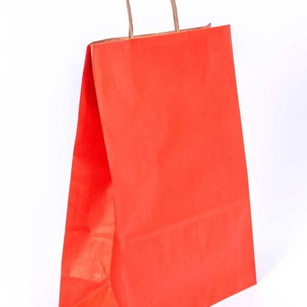 Vrećice s pl. ručkom u boji  260x120x350 mm